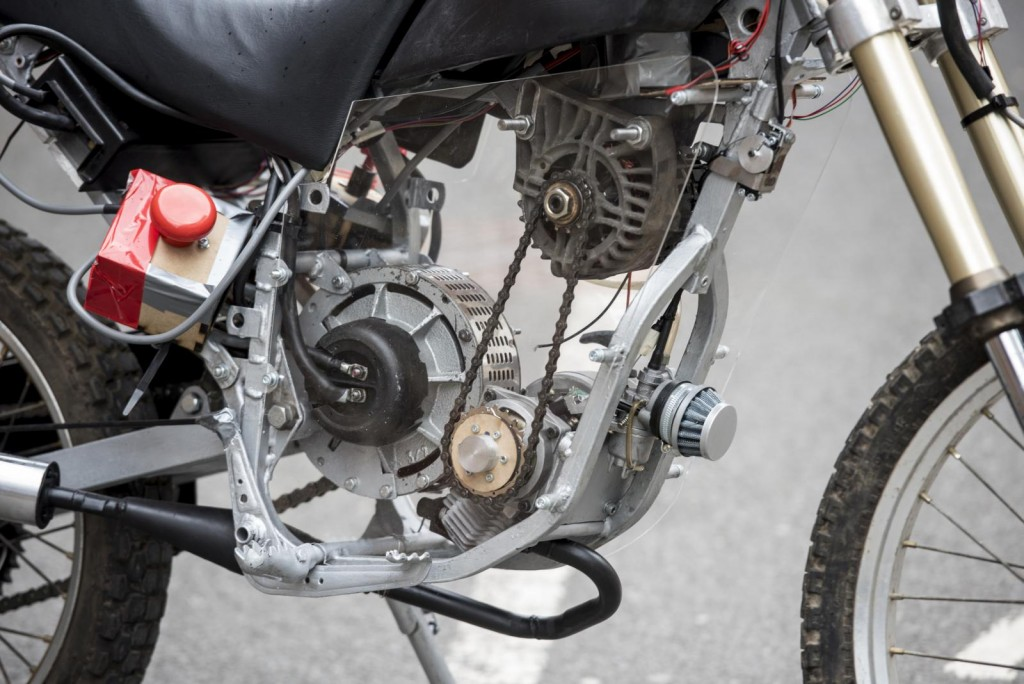 Range Extended Electric Motorbike