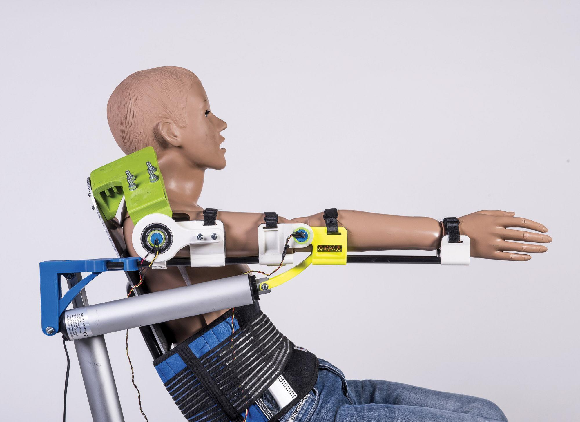 P Design: Upper Limb Exoskeleton – 'AESR'