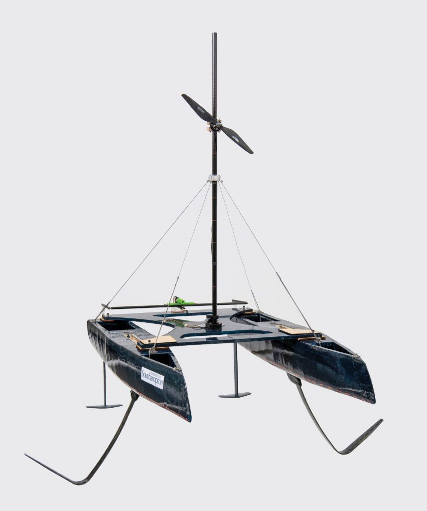 Self Propelled Sailing Hydrofoil Design Show 2018